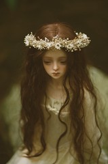 Ophelia (nymphelierre) Tags: bjd doll dollstown ordoll ophelia nymph mori water painting preraphaelite preraphaelism