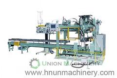 Automatic 5kg animal feed packing sealing machine (packing flour) Tags: filling machine packing 5kg 1kg 20kg 10kg 25kg 50kg