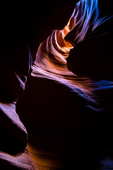 The Lighted Tunnel (jm.weeden) Tags: arizona water usa landscape landscapes puddle lake blue sunset golden composition camera exposure park west midwest hot spring winter trees nature wild outdoor outdoors orange yellow red redrocks hiking reflection double canon light sky weather atmosphere art beautiful beauty picoftheday likeforlike followforfollow air white summer color colors vibrant river new world sunny sun sol wet digital cielo colorful rock landschaft eos mer bright canyon dark contrast antelopecanyon