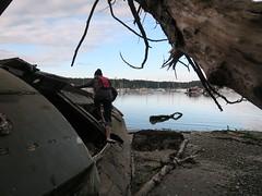 2017-05-18 at 19-47-51 (stepho.the.bear) Tags: boat wreacks shanty boating saltspring island bc