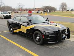 MSP 100th Anniversary Car (Evan Manley) Tags: dodgecharger mspanniversary msp michiganstatepolice