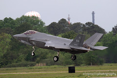 F-35 Lightning II Launch (Lebowitz Photography) Tags: joint base langley eustis air force atlantic trident 2017 exercise fighter jet fast airplane aircraft military usaf lockheed martin f35 lightning ii jsf strike 5th generation