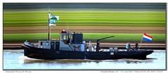 Hesari (Morthole) Tags: vianen sleepbootdagen slitscan ship boat schip boot barge binnenvaart schiff rheinschiff hesari sleepboot tugboat tug schlepper remorqueur