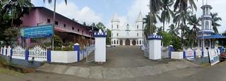 Our Lady Of Velankanni Church or Arogya Matha Devalayam, Karumathra 1
