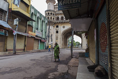 Life aroung Minar (Arpa Ghosh) Tags: charminar history laad bazar market telangana hyderabad tourism india canon 121clicks heritage nizam qutub