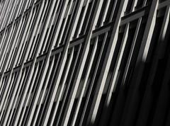 Shutter (Ed Sax) Tags: arrowslit schiesscharte design architektur fassade edsax freeandhansatownofhamburg freieundhansestadthamburg beton weis schatten amelungstrase