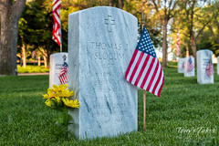 May 28, 2017 - Paying respect to Thomas Slocum of Thornton. (Tony's Takes)