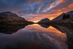 Loch Clair, Torridon (chrismarr82) Tags: nikon scotland d750 torridon clair loch liathach sunset longexposure mountain
