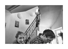 (Jan Dobrovsky) Tags: mental portrait contrast leicaq monochrome people rumburk northernbohemia handycapped grain indoor document care housing protected