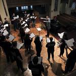 Choir practice.