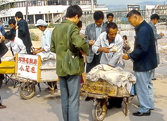 Qingdao, It's lunchtime (gerard eder) Tags: world travel reise viajes asia eastasia china quingdao people peopleoftheworld lunch lunchtime snack outdoor