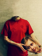 170307_01 (MeriAuri) Tags: me portrait photoshop psychodelic horror headless cruel