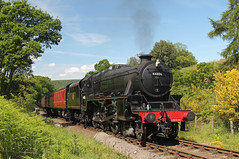44806 at Waterark (TomNoble7) Tags: lms black5 44806 waterark goathland grosmont pickering nymr