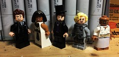 FO-WAH SUPPAH (Lord Allo) Tags: lego clone high john f kennedy abraham lincoln cleopatra joan arc gandhi