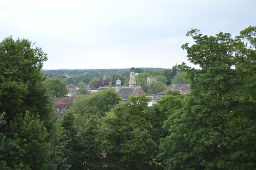 Thetford from the mound