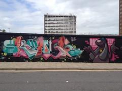 SKYHIGH . ROO (Brighton Rocks) Tags: brighton graffiti skyhigh roo