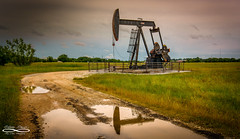 Texas FlowMay 20, 2017.jpg (outlaw.photography) Tags: 2017 chrisdaugherty field landscape light oil oilwell photography pumpjacks reflection rural sky south texas outlawphotography