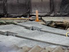 CBD & South East Light Rail - George and Hay Streets - Update 17 June 2017 - 5 (john cowper) Tags: cselr georgestreet haystreet haymarket sydneylightrail infrastructiure tracklaying track trackslab transportfornsw altrac acconia sydney newsouthwales