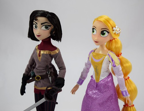 Rapunzel And Cassandra Doll Set Tangled The Series Disney Store Purchase Deboxed Free Standing Midrange Right Front View A Photo On Flickriver