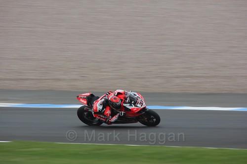 Marco Melandri in World Superbikes at Donington Park, May 2017