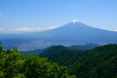 Mt.Fuji Panoramic View (peaceful-jp-scenery (busy)) Tags: mtfuji mitsutouge landscape mountain worldheritage 富士山 三つ峠山 開運山 風景 富士河口湖町 山梨 日本 世界遺産