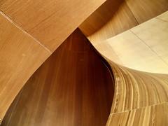 Circular Staircase, Art Gallery of Ontario, Toronto, Ontario (duaneschermerhorn) Tags: ago artgalleryofontario museum painting exhibition seat orange yellow black white toronto ontario canada art modernart contemporaryart
