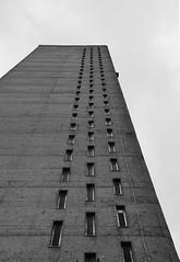 Urban walk 20 May 2017: Lewisham to Mile End 73 (neil mp) Tags: london towerhamlets poplar e14 balfrontower balfron ernőgoldfinger goldfinger modernism brutalism c20soc twentiethcenturysociety brownfieldestate harca londonewcastle blackwalltunnelapproach stleonardsroad andrewstreet blackandwhite bnw monochrome architecture servicetower liftshaft concrete