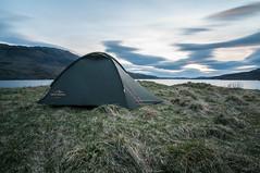 Camping at Loch Assynt 1 (Tomasz Urbaszek) Tags: scotland highlands photostrider phototrip nikon d90 primes travel journey landsape longexpousure benro tokina116 wideangle