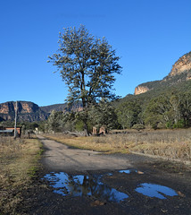 Glen Davis 6 (PhillMono) Tags: nikon dslr d7100 glen davis abandoned ghost town empty australia new south wales bush rurex urbex exploration reflection lonely road emptiness