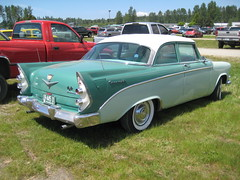 1956 Dodge Coronet D-500 (Hugo-90) Tags: monroe washington car auto automobile swap meet flea market vehicle antique classic 1956 dodge coronet d500