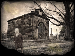 Shadowland (drei88) Tags: shadowpeople dark eerie disturbing forlorn bleak empty dreary lonely history timeregression agedphoto spectral uncertainty glimpse sensation atmosphere charged glow voices eternal spirit