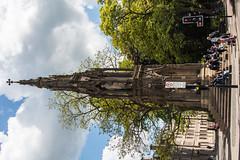 Martyrs' Memorial  Archbishop Cranmer Holding Bible (Le Monde1) Tags: oxford england oxfordshire university city lemonde1 nikon d800e county college georgegilbertscott thomascranmer hughlatimer nicholasridley archbishop martyrsmonument magdalenstreeteast bible uk dreamingspires morse