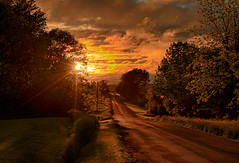 Golden Linings (Matt Champlin) Tags: tgif friday sunset weather home skaneateles country rural countryroad canon 2017 life nature landscape beautiful farm farming colorful sunburst theroad spring springtime memorial memorialday