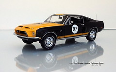 1968 Ford Shelby-Mustang GT-500 Terlingua Coupe (JCarnutz) Tags: 124scale diecast mintmodels franklinmint 1968 ford shelbymustang terlingua