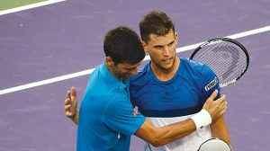 Oggi Nole Djokovic rischia di brutto contro Thiem