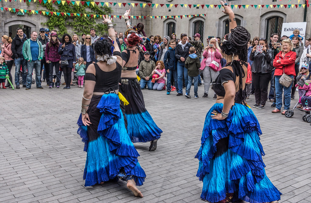 The Zoryanna Dance Troupe Tribal Belly Dancing [Africa Day 2017 Dublin]-129045