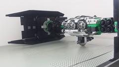 Jabba the Hutt's TIE Fighter - Side2 (Evilkirk) Tags: starwars lego jabba hutt tie fighter moc