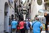 Crowded, Narrow Street, Amalfi