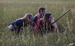 Raid Viking (Eilarock) Tags: viking raid guerrier attaque sun soleil canon 550d