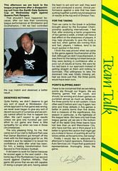 Norwich City vs Luton Town - 1991 - Page 3 (The Sky Strikers) Tags: norwich city luton town barclays league division one carrow road official matchday programme pound twenty