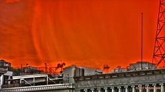Sunset in Downtown (mgronwold) Tags: sunset hdr highdynamicrange downtown losangeles dtla