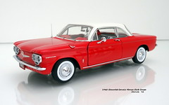1960 Chevrolet Corvair Monza Club Coupe (JCarnutz) Tags: 124scale diecast franklinmint 1960 chevrolet corvair monza