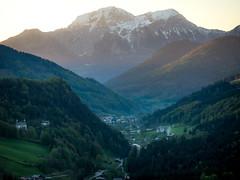 Göllstock (ralphjanker) Tags: alps alpen berchtesgaden berchtesgadener land deutschland germany bavaria bayern sonnenaufgang sunrise mountains berge kehlstein göll hohes brett hoher ramsau eagles nest