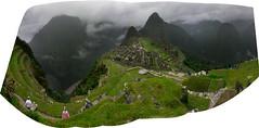Mystical in mist (eweliyi) Tags: 365tm2r peru machupicchu panorama fog clouds green travel mystical