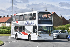 Acklams Beverley PL51LGF. (EYBusman) Tags: acklams coaches holidays beverley east yorkshire independent bus coach holderness road hull radio one big weekend shuttle lancs lancashire vyking volvo b7tl go ahead london general regional transport buses pl51lgf eybusman evl5