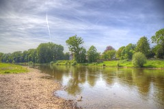 Summer mood (blavandmaster) Tags: canon christiankortum eos6d 24105 2017 perfect sky wolken may eisbergen printemps nrw beach landscape colours harmonic river sand plage beautiful countryside wasser photomatix weser handheld strand sable hdr lente ciel paysage tyskland westfalen nuages forest water interesting processing frühling awesome eau light rivière germany allemagne landschaft duitsland flus himmel deutschland clouds lovely fields mai complete happy spring reflections