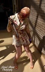 Silent Hill Nurse cosplay (TheSamuelYears) Tags: fanquest comiccon convention con winnipeg wpg universityofwinnipeg videogame videogames game nurse silenthill nikon nikond3400 cosplay konami costume