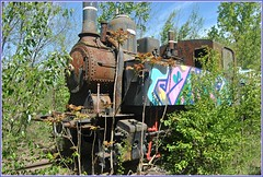 The branch line (Loco Steve) Tags: railway derelict rusty strasshof austria abandoned travel