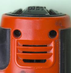 (amy20079) Tags: macromondayspareidolia pareidolia macro object nikond5100 drill electricdrill face geometricshapes manmade tool plastic