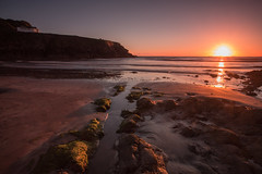 Little Haven (Explored) (Esox2402) Tags: sunset beach sea rocks canon6d 1740mm water landscape sky coast